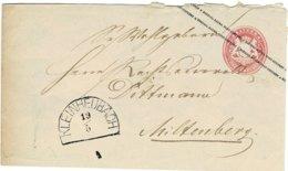"Ca. 1870, GA "" KLEINHEUBACH "" , A2532 - Bavière"