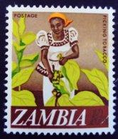 Zambie Zambia 1968 Agriculture Tabac Tobacco Yvert 44 ** MNH - Zambia (1965-...)