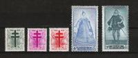 Zegels 787 - 791 ** Postfris - Unused Stamps