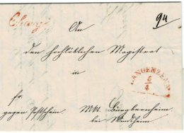 "1846, Charge-Bf.  "" LANGENZENN "" , A2533 - Bavière"