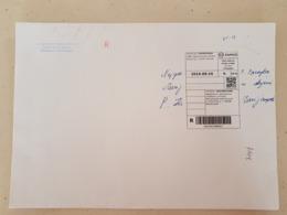 Lithuania Litauen Cover Sent From Kaunas To Marijampole  2019 Taxe Percue - Lituania