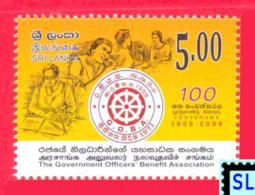 Sri Lanka Stamps 2009, The Goverment Officers' Benifit Association, MNH - Sri Lanka (Ceylon) (1948-...)