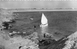 ¤¤  -  ILE-de-NOIRMOUTIER    -   L'HERBAUDIERE  -  Les Rochers Et La Plage De Luzeronde      -   ¤¤ - Ile De Noirmoutier