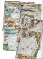 20 Cpa  20 Arrondissements Illustrés Par PINCHON  TTTB état  Edit Blondel Et Rougery 1946  Port France 3,60€ - Frankreich