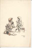 Dessin De POULBOT 1915 - Prenten & Gravure