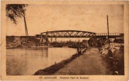 BELGIQUE - SAINT GHISLAIN - Nouveau Pont De Baudour - Très Très Rare - TBE - - Saint-Ghislain
