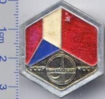 54 Space Soviet Russian Pin INTERKOSMOS USSR-Czechoslovakia - Space