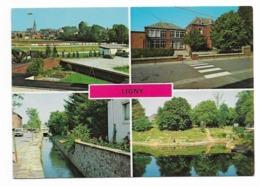Ligny ( Pr.N )  Multi Vue ( 4 Images )  Terrain  De  Foot  ( Sur Vue De Gauche A Haute ) - Sombreffe