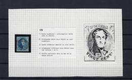 N°7 (plaat II Positie 175) GESTEMPELD MET 4 MARGES SUPERBE - 1851-1857 Médaillons (6/8)