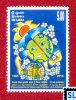 Sri Lanka Stamps 2010, Ozone Layer Protection, Vienna Convention, MNH - Klima & Meteorologie