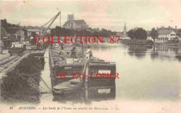 PENICHE ☺♦♦ CHARGEMENT D'un PENICHE Avec La GRUE - MARINIER  BATELLERIE - Houseboats