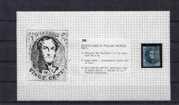 N°7 (plaat II Positie 188) GESTEMPELD MET 4 MARGES SUPERBE - 1851-1857 Medallions (6/8)