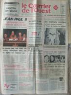 Journal Le Courrier De L'Ouest (21/22 Oct 1978) Jean Paul II - Malfrats Niortais - Tuerie Pessac - Kranten
