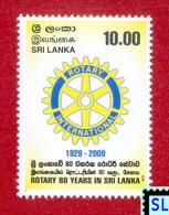Sri Lanka Stamps 2010, Rotary International, MNH - Sri Lanka (Ceylon) (1948-...)