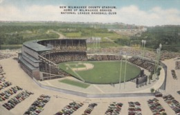 New Milwaukee County Stadium , Wisconsin , 30-40s - Stadiums