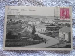 Cpa Troisvierges Ulflingen Panorama Cachet Ambulant 1919 Luxembourg - Troisvièrges