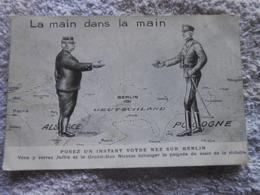 Cpa Guerre 14-18 Wk1 Ww1 Caricature Humour Propagande Patiotisme - Oorlog 1914-18