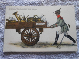 Cpa Guerre 14-18 Wk1 Ww1 Caricature Humour Propagande Patiotisme - Guerre 1914-18