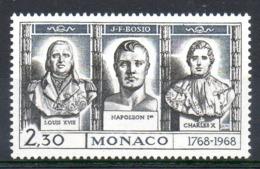 MONACO. N°768 De 1968. Napoléon. - Napoleón