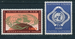 Verenigde Naties/United Nations/Nation Unis Geneve 1970 Mi: 9-10 Yt: 6., 14 (PF/MNH/Neuf Sans Ch/**)(4873) - Genève - Kantoor Van De Verenigde Naties