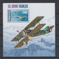 J942. Niger - MNH - 2013 - Transport - Aviation - Planes - France - Bl - Verkehr & Transport