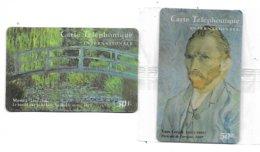@+ Lot De 2 Télécartes  Prépayées STARPHONE - France - Impressionistes (neuves) - France
