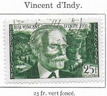 Vincent D'Indy - Oblitérés