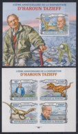T308. Burundi - MNH - Famous People - Haroun Tazieff - Prehistorics - Imperf - Celebrità