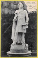 CPA 92 NEUILLY Sur Seine (et Non Paris) - Statue D'Alfred De Musset - Neuilly Sur Seine