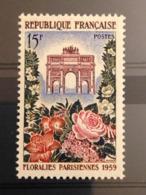 FRANCE - 1959 - Floralies Parisiennes - N° 1189 - Neufs** - France