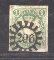GRX 571  - Allemagne  -  Bavière  :  Mi  15  (o)   Obl. 296  Mainlens - Bavière
