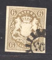 GRX 572  - Allemagne  -  Bavière  :  Mi  16  (o)   Signé Brun - Bavière