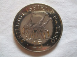 Tanzania: 25 Shillings 1974 - Tanzania