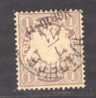 GRX 583  - Allemagne  -  Bavière  :  Mi  31  (o)  Weite Rauten - Bavière