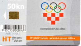 CROATIE JEUX OLYMPIQUES - 50 Kn - Croatie