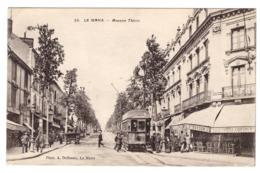 LE MANS - Avenue Thiers (tramway) - Le Mans