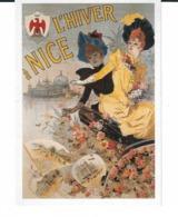 AFFICHE ANCIENNE DE NICE L HIVER A NICE 1890 - Publicité