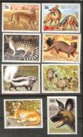RWANDA  Animals,fish Set 8 Stamps  MNH - Stamps
