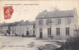 Tarn - Saint-Pierre-de-Trivisy - Poste Et Maison D'Ecole - France