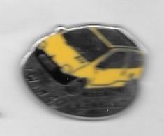Pin's   Automobile  Agent  RENAULT  TWINGO  Jaune - Renault