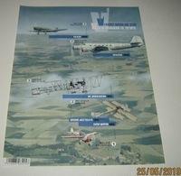Ongetand Blok 235** Oude Belgische Vliegtuigen 4588/92**/ Non-Dentelé  Vol à Travers Le Temps -Anciens Avions Belges - Imperforates