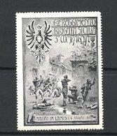 Erinnofilo 62. Regimento Brigata Sicilia, 3. Compagnia, S. Marco In Lamis 1861, Soldaten Unter Beschuss - Erinnofilia