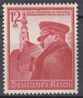 DR 691, Postfrisch **, 50. Geburtstag AH 1939 - Deutschland