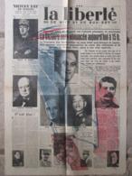 Journal La Liberté De Nice (8 Mai 1945) La Victoire Sera Annoncée - 1950 à Nos Jours