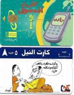 @+ Lot De 2 Cartes D'Egypte - Aegypten