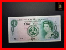"ISLE OF MAN 1 £  1983  P. 38  ""Tyvek""  VF \ XF - [ 4] Isle Of Man / Channel Island"