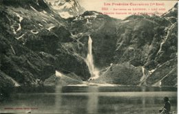 CPA -  LUCHON (ENV.) - LAC D'OO -  GRANDE CASCADE ET PIC QUAIRAT - Luchon