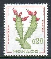 MONACO. N°543 De 1960-65. Cactus. - Sukkulenten