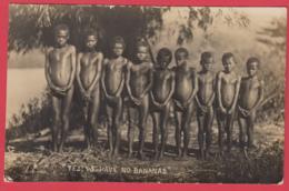 "CPA-FIDJI - ""YES! WE HAVE NO BANANAS "" RARE** 2 SCANS - Fiji"