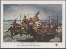 United States USA 1424/28 - Washington Crossing The Delaware 1976 M/S - MNH - Unabhängigkeit USA
